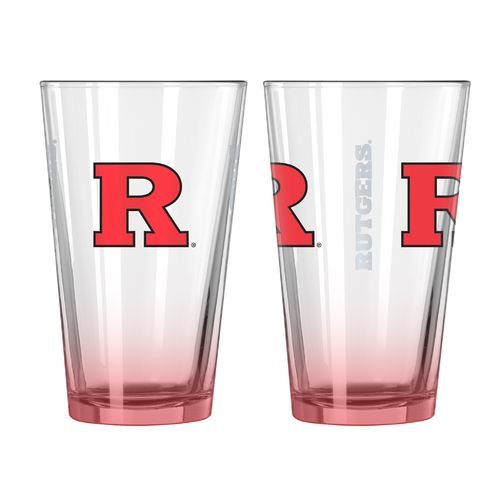 Boelter Brands Rutgers University Elite 16 oz. Pint Glasses 2-Pack