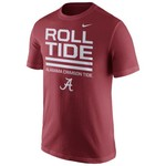 Nike Men's University of Alabama Local Verbiage Short Sleeve T-shirt