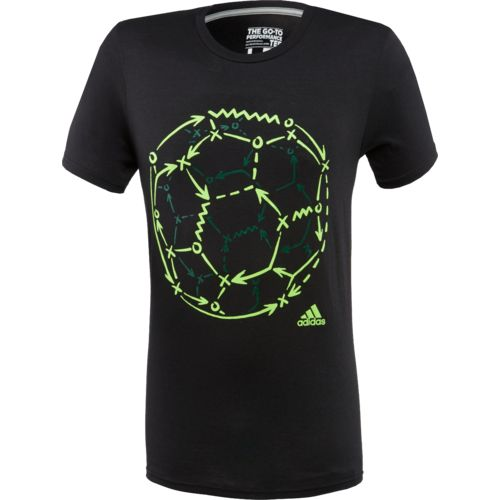 adidas™ Men's Soccer Tactical Ball T-shirt