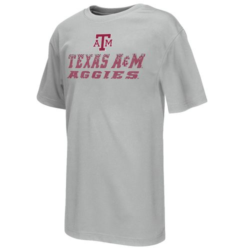 Colosseum Athletics Boys' Texas A&M University Pixel Short Sleeve T-shirt