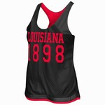 Colosseum Athletics Women's University of Louisiana at Lafayette Triple Crown Reversible Tank To