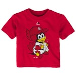 Majestic Infants' St. Louis Cardinals Baby Mascot T-shirt