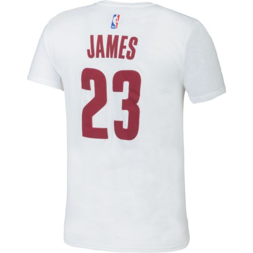 adidas Men's Cleveland Cavaliers LeBron James No. 23 High Density T-shirt