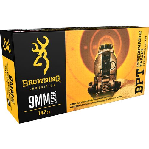 Browning 9mm 147-Grain Ammunition - view number 1