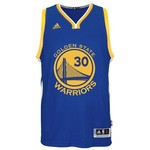adidas Adults' Golden State Warriors Stephen Curry No. 30 Swingman Jersey - view number 2