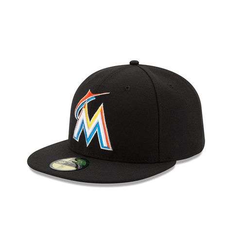 New Era Men's Miami Marlins 2016 59FIFTY Cap