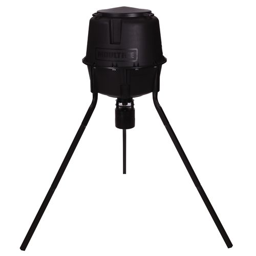 Display product reviews for Moultrie Deer Feeder Pro 30-Gallon Tripod Feeder