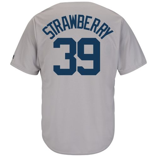 Majestic Men's New York Yankees Darryl Strawberry #39 Cooperstown Cool Base 1927 Replica Jersey