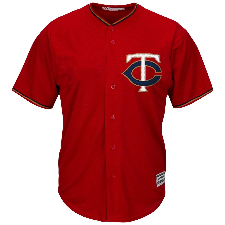 Cheap Majestic Men's Minnesota Twins Cool Base Replica Jersey