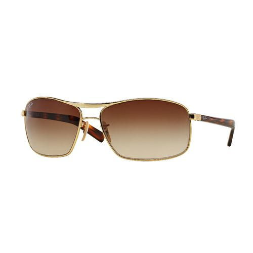 Ray-Ban Front Runner Steel Man Sunglasses - view number 1