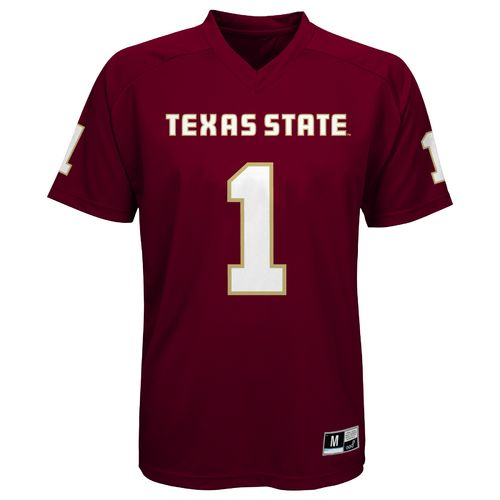 Gen2 Boys' Texas State University Player #1 Performance T-shirt - view number 1