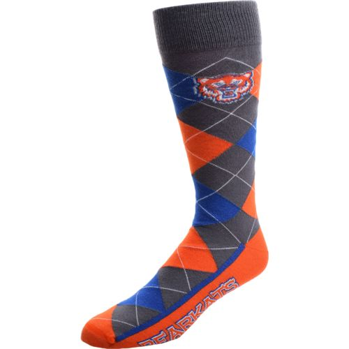 FBF Originals Men's Sam Houston State University Argyle Zoom Dress Socks