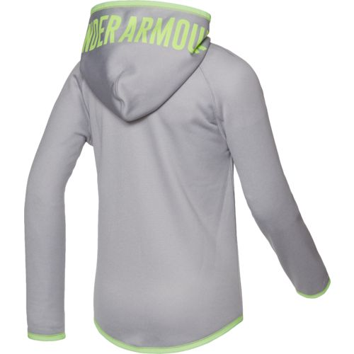 Under Armour Girls' Storm Armour Fleece Novelty Big Logo Hoodie - view number 2