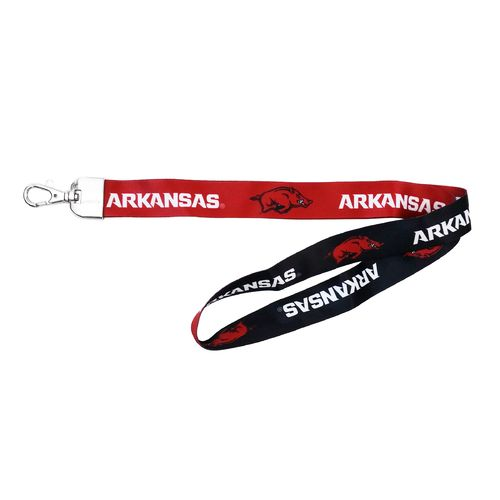NCAA University of Arkansas 2-Tone Lanyard
