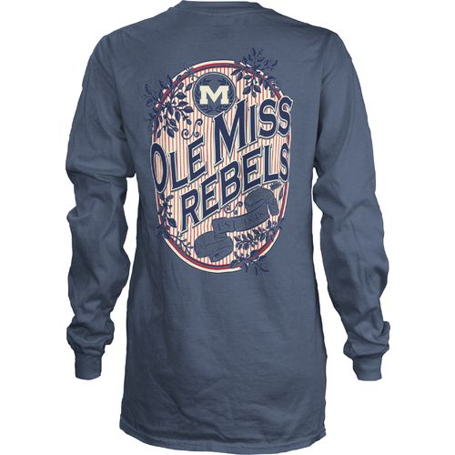 Three Squared Juniors' University of Mississippi Maya Long Sleeve T-shirt