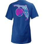 Three Squared Juniors' University of Florida Moonface Vee T-shirt