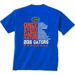 New World Graphics Men's University of Florida Schedule T-shirt