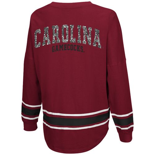 Colosseum Athletics™ Women's University of South Carolina My Boyfriend Varsity Pullover