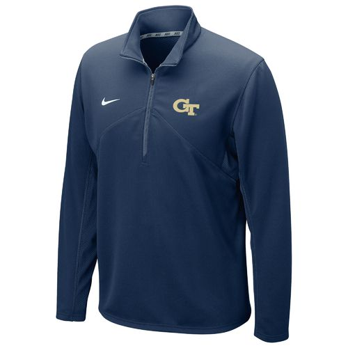 Nike™ Men's Georgia Tech Dri-FIT 1/4 Zip Training Pullover
