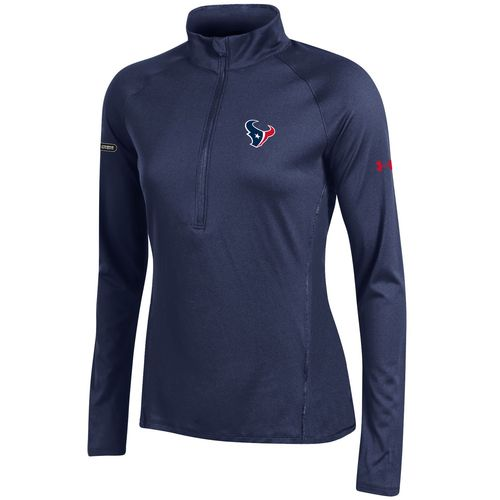 Under Armour™ NFL Combine Authentic Women's Houston Texans Tech 1/4 Zip Pullover