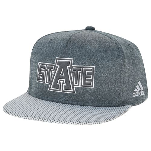 adidas™ Men's Arkansas State University Flat Brim Snapback Cap