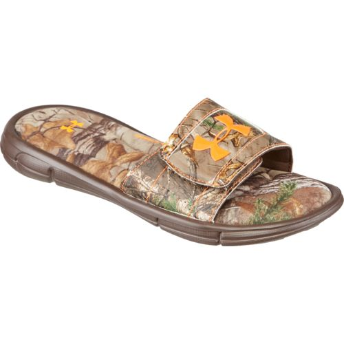 Under Armour Boys' Ignite Camo Soccer Slides - view number 3