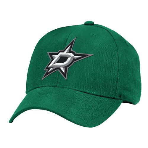 Reebok Men's Dallas Stars Basics Structured Adjustable Cap