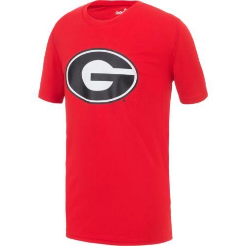 NCAA Boys' University of Georgia Logo Performance T-shirt