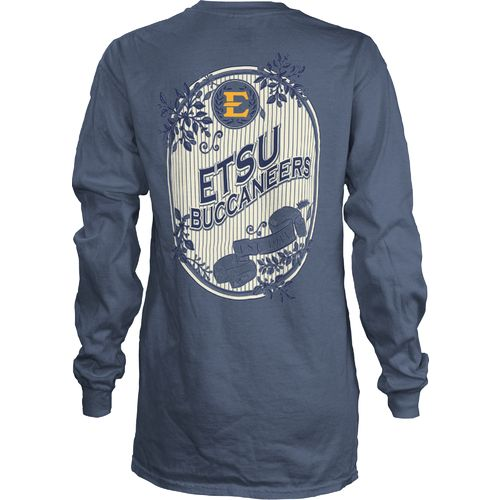 Three Squared Girls' East Tennessee State University Maya Long Sleeve Shirt
