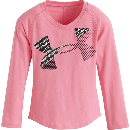 Under Armour™ Girls' Scripted Big Logo Long Sleeve