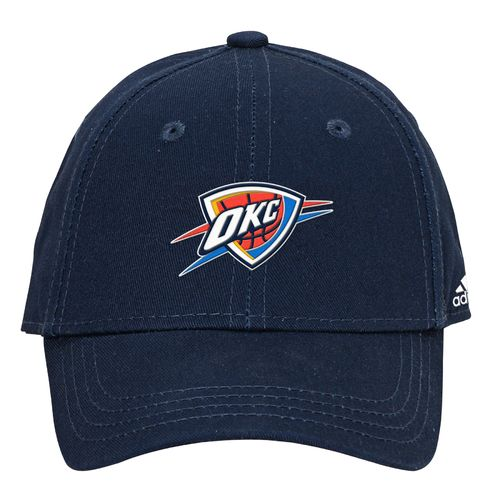 adidas Boys' Oklahoma City Thunder Solid Basic Structured Cap