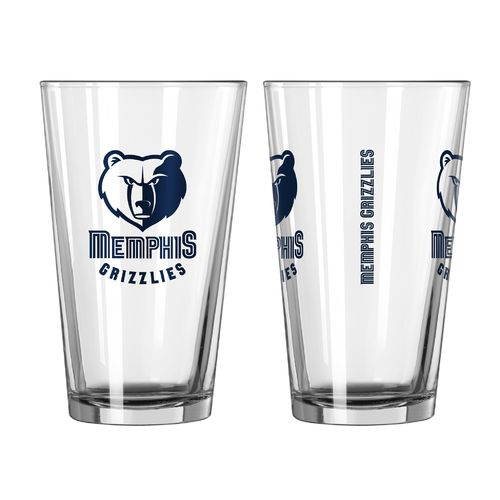 Boelter Brands Memphis Grizzlies Game Day 16 oz. Pint Set