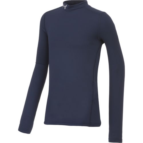 Display product reviews for Under Armour Boys' ColdGear Armour Mock Neck Top
