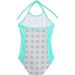 O'Rageous Kids Girls' Light Medallion 1-Piece Bathing Suit - view number 2