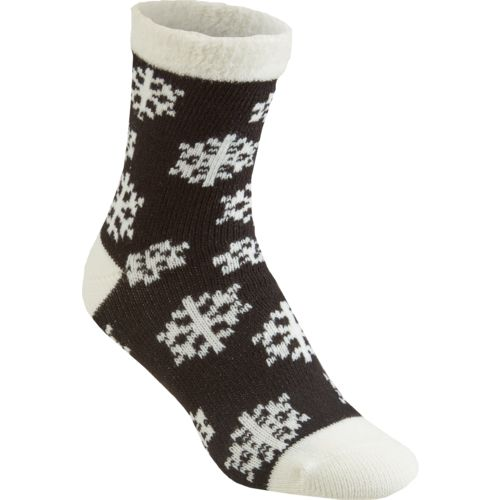 Magellan Outdoors Women's Lodge Snowflake Socks