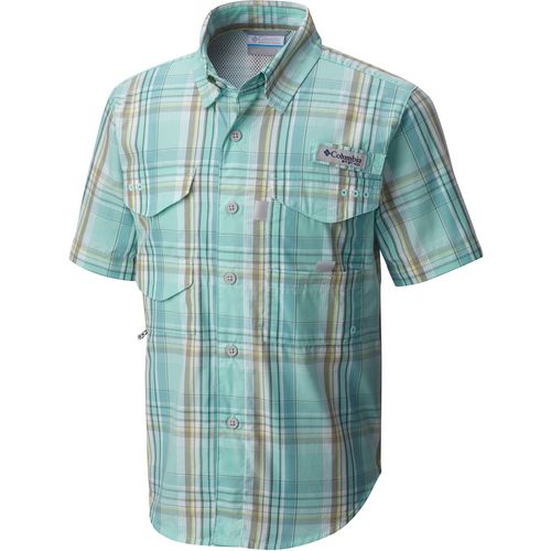 Columbia Sportswear Boys' PFG Super Bonehead Short Sleeve Shirt