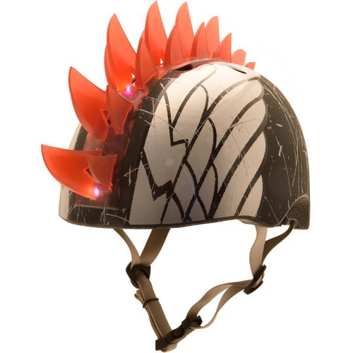Raskullz Boys' Wings LED Mohawk Bike Helmet