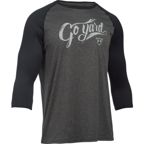 Under Armour Men's Baseball 3/4 Sleeve T-shirt