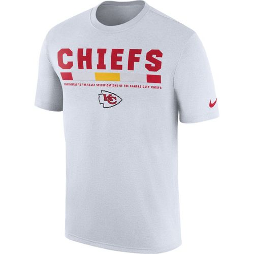 Nike™ Men's Kansas City Chiefs Legend Onfield Staff T-shirt - view number 1