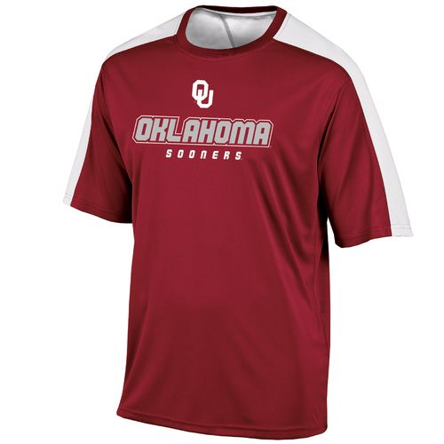 Champion™ Men's University of Oklahoma Colorblock T-shirt - view number 1