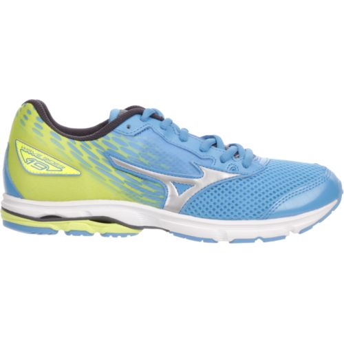 Display product reviews for Mizuno Juniors' Wave Rider 19 Running Shoes