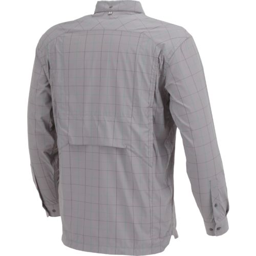 Under Armour Men's Fish Hunter Plaid Long Sleeve Shirt - view number 3