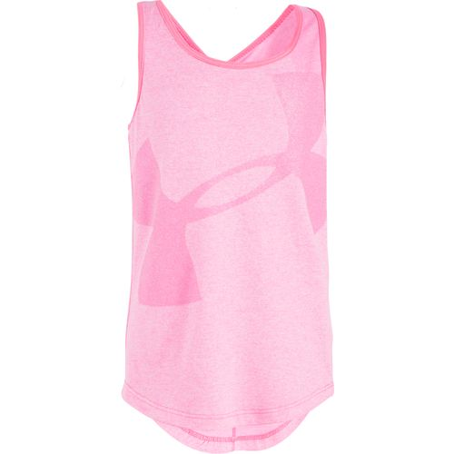 Under Armour Girls' Big Logo Tank Top - view number 1