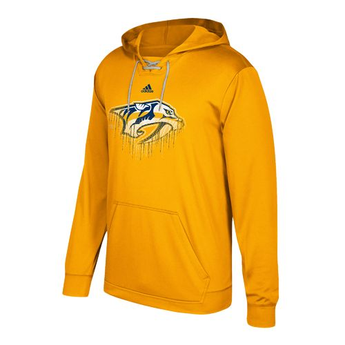 adidas Men's Nashville Predators Drifting Performance Fleece Hoodie