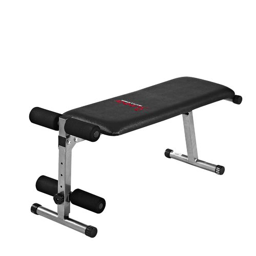 Sunny Health & Fitness 2-in-1 Flat/Sit-Up Bench