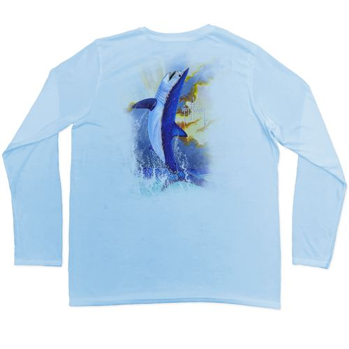 Guy Harvey Boys' Mako Leap Pro UVX Long Sleeve T-shirt