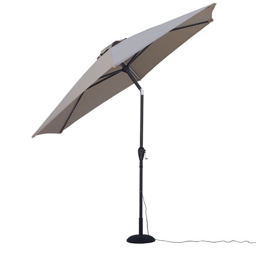 Quik Shade Ultra Brite Outdoor Cool Lighted Patio Umbrella - view number 2