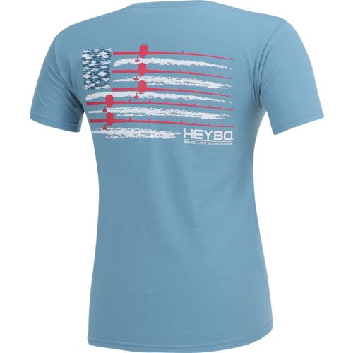 Heybo Men's USA Flag T-shirt - view number 2