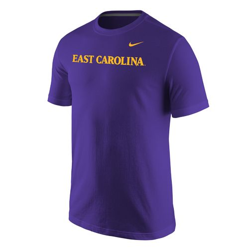 Nike Men's East Carolina University Wordmark T-shirt