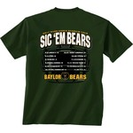 New World Graphics Men's Baylor University Football Schedule '17 T-shirt - view number 1